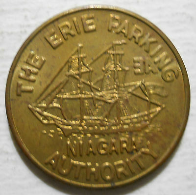Erie Parking Authority (Pennsylvania) parking token - PA3360B