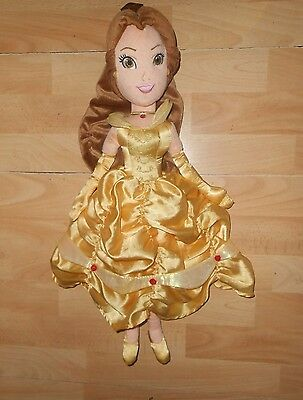 Disney  BELLE  Character  from BEAUTY and the BEAST  Toy  Soft  Plush