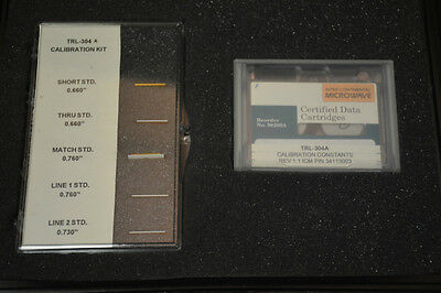 Inter-Continental Microwave TRL-304A Calibration Kit