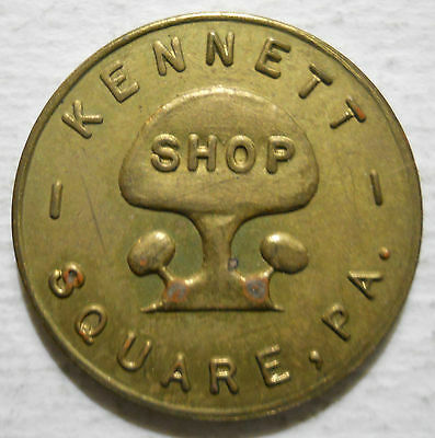 Kennett Square, Pennsylvania parking token - PA3507A