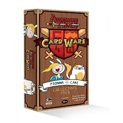 Adventure Time Card Wars: Fionna vs Cake Expansion Brand New