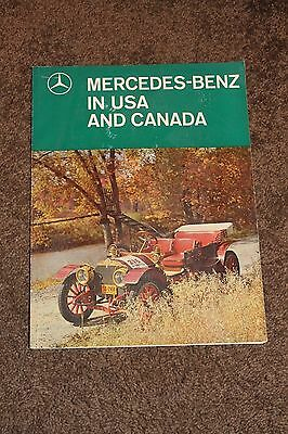 1966 In Aller Welt MERCEDES-BENZ Magazine - In USA and Canada