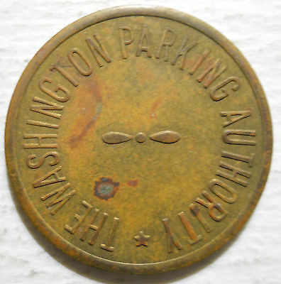 Washington Parking Authority (Pennsylvania) parking token - PA3950A