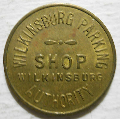 Wilkinsburg, Pennsylvania parking token - PA3987D