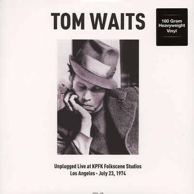 Tom Waits - Unplugged Live At KPFK Folkscene S (Vinyl LP - 2017 - EU - Original)