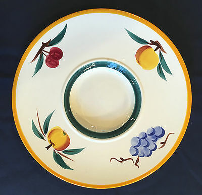 """HTF Vintage Stangl Fruit 13½"""" Lazy Susan in Excellent Condition from Flemington"""