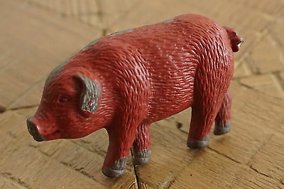 Country Primitive Antique Style Dresser Drawer Cabinet RED PIG PULL KNOB - NEW