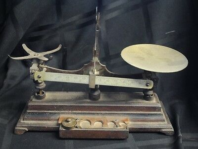 Henry Troemner Scale ptd. 1876 Counter Balance Scale