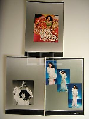 3 Diana Ross Supremes Original Proofs VINTAGE PHOTO LOT By Harry Langdon 283i