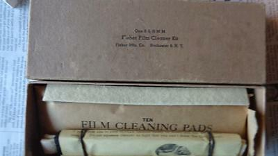 Fisher Film Cleaner Kit 8 & 16mm NOS With Box