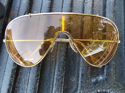 No Paypal     Vintage B&l Bausch & Lomb Wings Yellow Lens Gold Frame