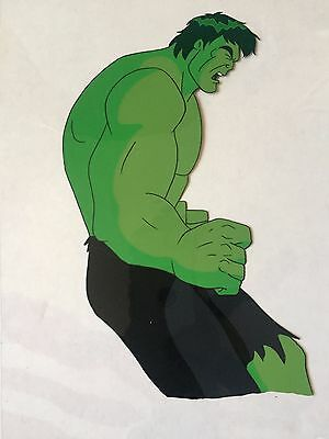 Marvel The Incredible Hulk Original Hand-Painted  Production Animation Cel Hulk