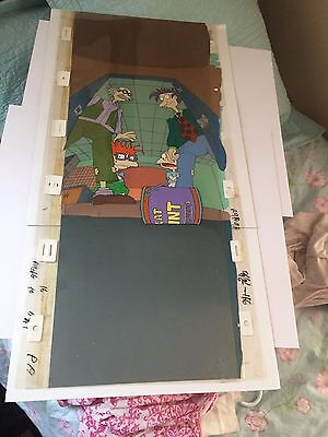 Nickelodeon RUGRATS Original Production Animation Cel & Background Cel Set Up