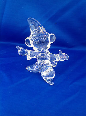 Disney Store Exclusive WIZARD MICKEY MOUSE - Fantasia Crystal Figurine 997/1800