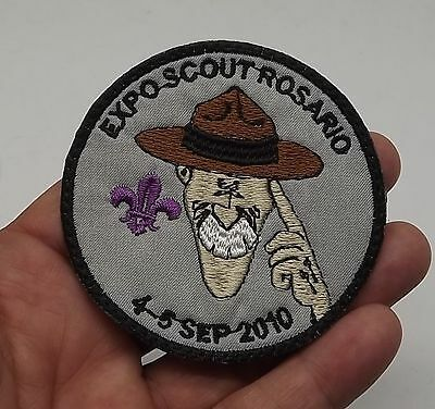 Patch  Expo Scout Rosario 2010  Embroidery P-26