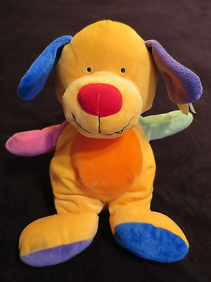 Ty Baby Collection Pretty Puppy The Dog Pluffies Multi Color TyLux Retired 2005