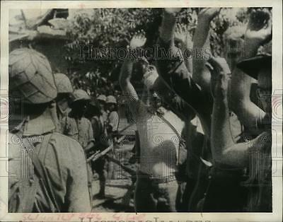 1943 Press Photo Japanese Soldiers of Bataan and Correigidor - neo04074
