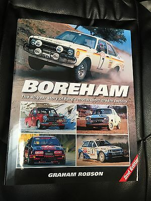Boreham - The 40 Year History Of Fords Motorsport Dream Factory Book