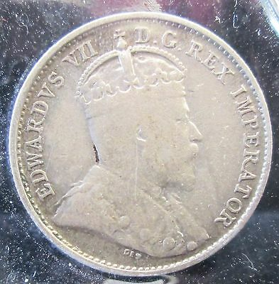 1903 H - Canada 5 Cents - Silver -B207