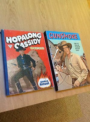 gunsmoke and hopolong casidy annuals