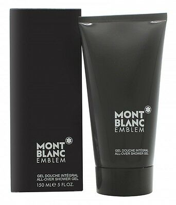 Mont Blanc Emblem All-Over Shower Gel 150Ml - Men's For Him. New. Free Shipping