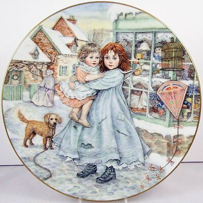Royal Worcester NSPCC Plate Love
