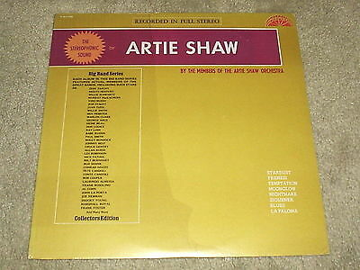 MEMBERS OF THE ARTIE SHAW ORCHESTRA : The Stereophonic Sound Of - 1970s USA LP