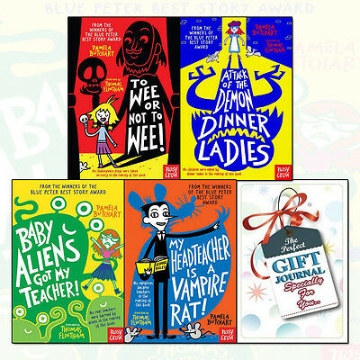Baby Aliens Series Pamela Butchart 4 Books Collection Set With Journal NEW BRAND