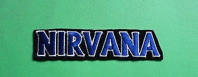 NIRVANA Patch Toppa VINTAGE RARE! Rock Band Artist Music!