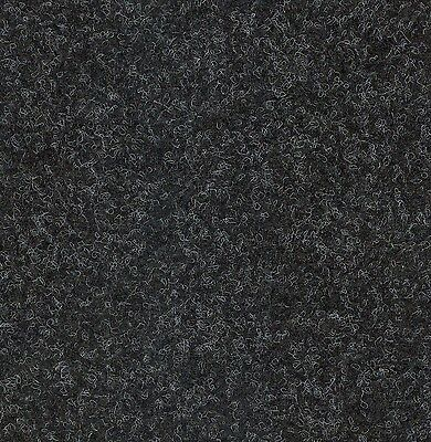 20 New Velour Ash Black CARPET TILES For Home and Office use