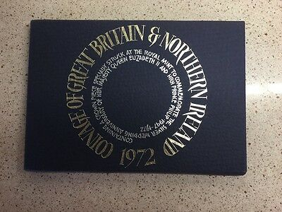 Royal Mint 1972 Coinage Of Great Britain And Northern Ireland Set