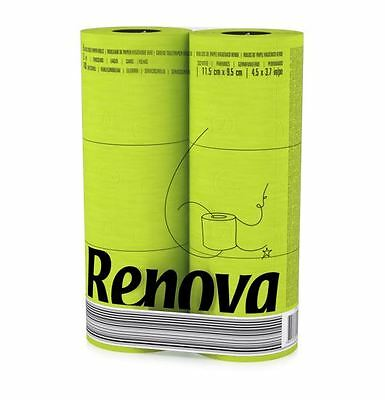 Renova Toilet Roll Green (6 Pack)