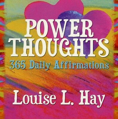 Power Thoughts: 365 Daily Affirmations (Paperback), Hay, Louise L., 97814019055.