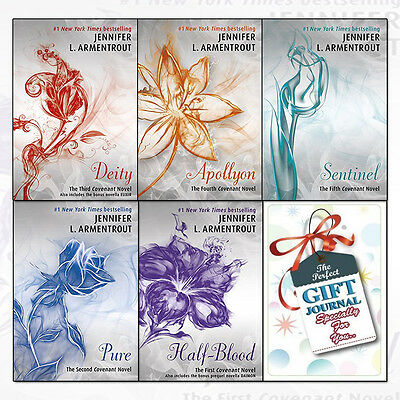 Covenant Series By Jennifer L. Armentrout 5 Books Collection With Journal Set UK
