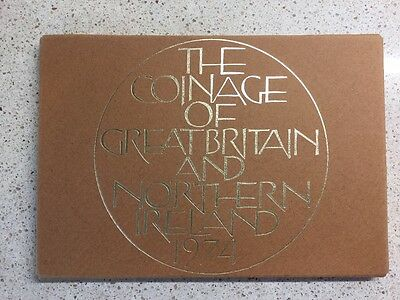 Royal Mint 1974 Coinage Of Great Britain And Northern Ireland Set