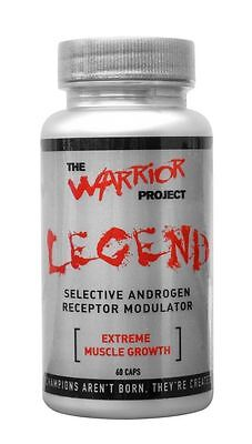 The Warrior Project - Legend - 60 Caps