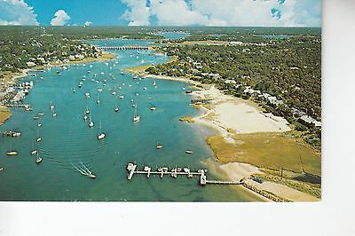Aerial View of  Bass River  MA Mass