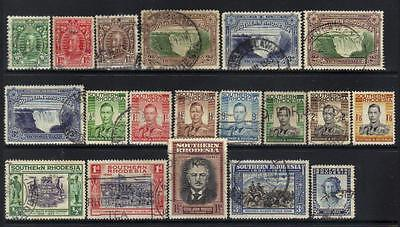 Southern Rhodesia Small Used Selection
