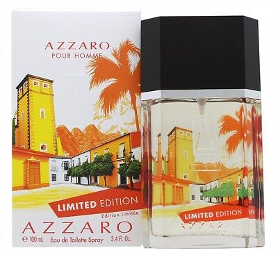 Azzaro Pour Homme Eau De Toilette 100Ml Spray Collectors Edition - Men's. New