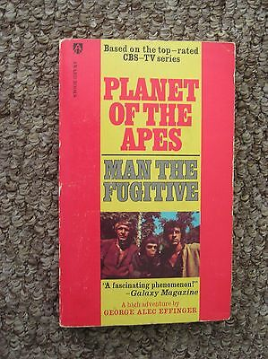 Planet Of The Apes 1974 Tv Series Tie-In Novel Man The Fugitive By G E Effinger