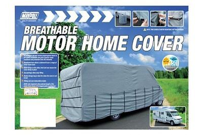 Maypole 4-Ply Motor Home Cover Grey - Fits 7.5M To 8.0M Breathable Waterproof