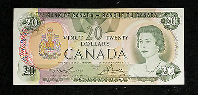1979 Uncirculated $20 Bank of Canada Note- Lawson/Bouey