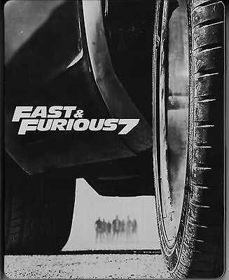 Fast and furious 7 - Blu Ray Steelbook - TBE