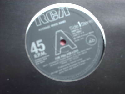 "AVERAGE WHITE BAND-FOR YOU FOR LOVE 1980 DISCO 12"" promo"