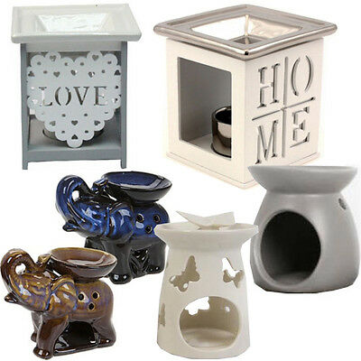 Ceramic Oil Burner Warmer Fragrance Set Granules Melt Wax Home Aroma Yankee Tart