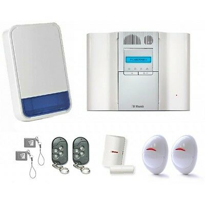 Visonic Powermax Complete Home Intruder Burglar Alarm Kit Security Wireless