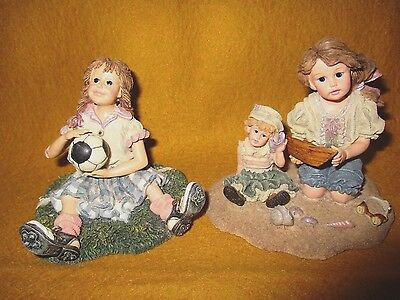 LOT Yesterday's Child Dollstone Collection Wanna Be The Save & Home Again By Sea