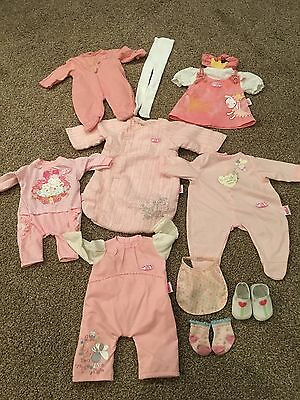 Zapf Creation Baby Annabell Clothes Bundle