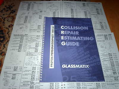 OEM part number guide Proton Persona and Compact 1994 on