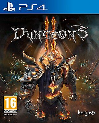 Dungeons II PS4 Sony Playstation 4 Video Game Brand New Sealed - Dungeon's 2